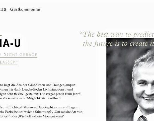 Ewald Ulrichs Gastkommentar in shops 118